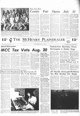 McHenry Plaindealer (McHenry, IL), 31 Jul 1974