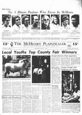 McHenry Plaindealer (McHenry, IL), 7 Aug 1974