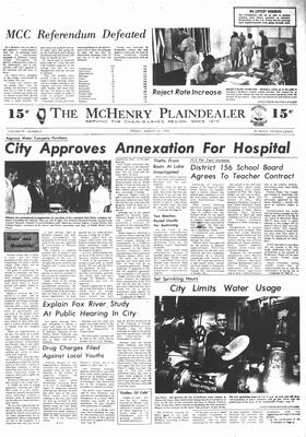 McHenry Plaindealer (McHenry, IL), 22 Aug 1974