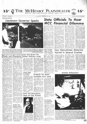 McHenry Plaindealer (McHenry, IL), 18 Sep 1974