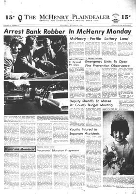 McHenry Plaindealer (McHenry, IL), 25 Sep 1974