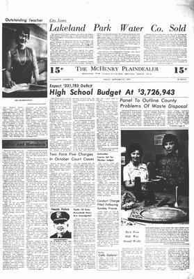 McHenry Plaindealer (McHenry, IL), 27 Sep 1974