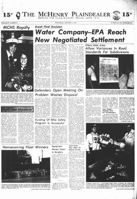 McHenry Plaindealer (McHenry, IL), 9 Oct 1974