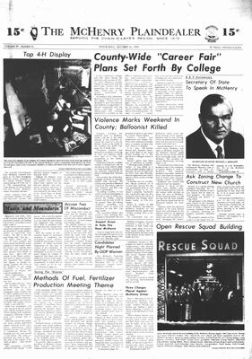 McHenry Plaindealer (McHenry, IL), 16 Oct 1974