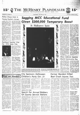 McHenry Plaindealer (McHenry, IL), 30 Oct 1974