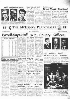 McHenry Plaindealer (McHenry, IL), 8 Nov 1974