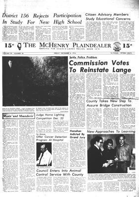 McHenry Plaindealer (McHenry, IL), 6 Dec 1974