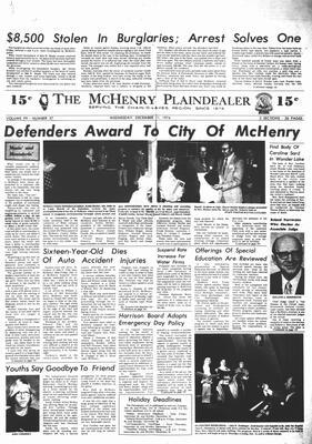 McHenry Plaindealer (McHenry, IL), 11 Dec 1974