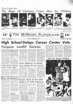 McHenry Plaindealer (McHenry, IL), 20 Dec 1974