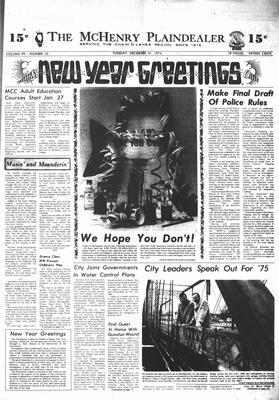 McHenry Plaindealer (McHenry, IL), 31 Dec 1974