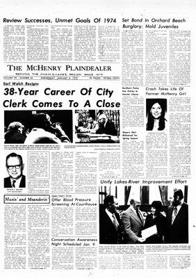 McHenry Plaindealer (McHenry, IL), 8 Jan 1975