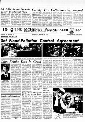 McHenry Plaindealer (McHenry, IL), 29 Jan 1975