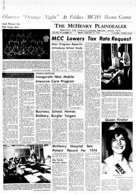 McHenry Plaindealer (McHenry, IL), 31 Jan 1975