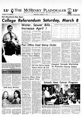 McHenry Plaindealer (McHenry, IL), 5 Mar 1975