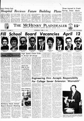 McHenry Plaindealer (McHenry, IL), 9 Apr 1975