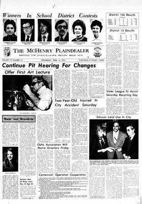 McHenry Plaindealer (McHenry, IL), 16 Apr 1975
