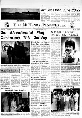 McHenry Plaindealer (McHenry, IL), 20 Jun 1975