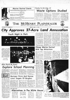 McHenry Plaindealer (McHenry, IL), 11 Jul 1975