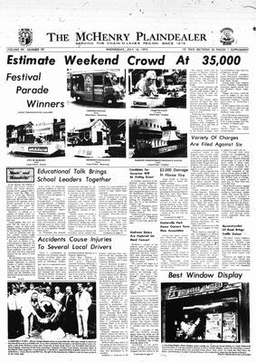 McHenry Plaindealer (McHenry, IL), 16 Jul 1975