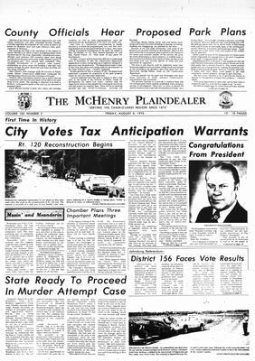 McHenry Plaindealer (McHenry, IL), 8 Aug 1975