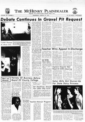 McHenry Plaindealer (McHenry, IL), 27 Aug 1975