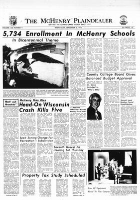 McHenry Plaindealer (McHenry, IL), 3 Sep 1975