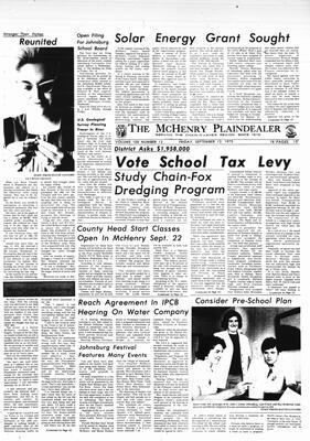 McHenry Plaindealer (McHenry, IL), 12 Sep 1975