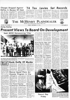 McHenry Plaindealer (McHenry, IL), 27 Sep 1975