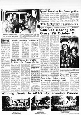 McHenry Plaindealer (McHenry, IL), 1 Oct 1975