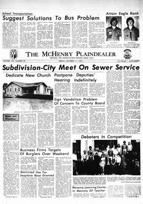 McHenry Plaindealer (McHenry, IL), 17 Oct 1975