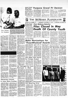 McHenry Plaindealer (McHenry, IL), 12 Nov 1975