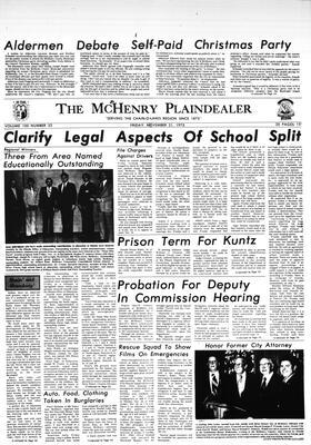 McHenry Plaindealer (McHenry, IL), 21 Nov 1975