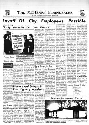 McHenry Plaindealer (McHenry, IL), 5 Dec 1975