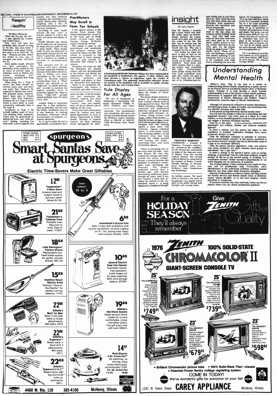 McHenry Plaindealer (McHenry, IL), 10 Dec 1975