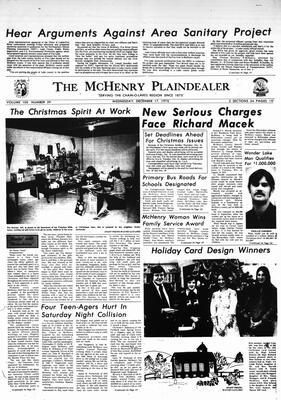 McHenry Plaindealer (McHenry, IL), 17 Dec 1975