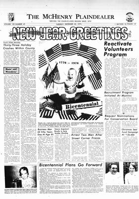 McHenry Plaindealer (McHenry, IL), 30 Dec 1975