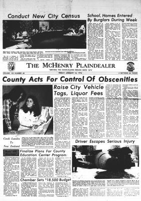 McHenry Plaindealer (McHenry, IL), 16 Jan 1976