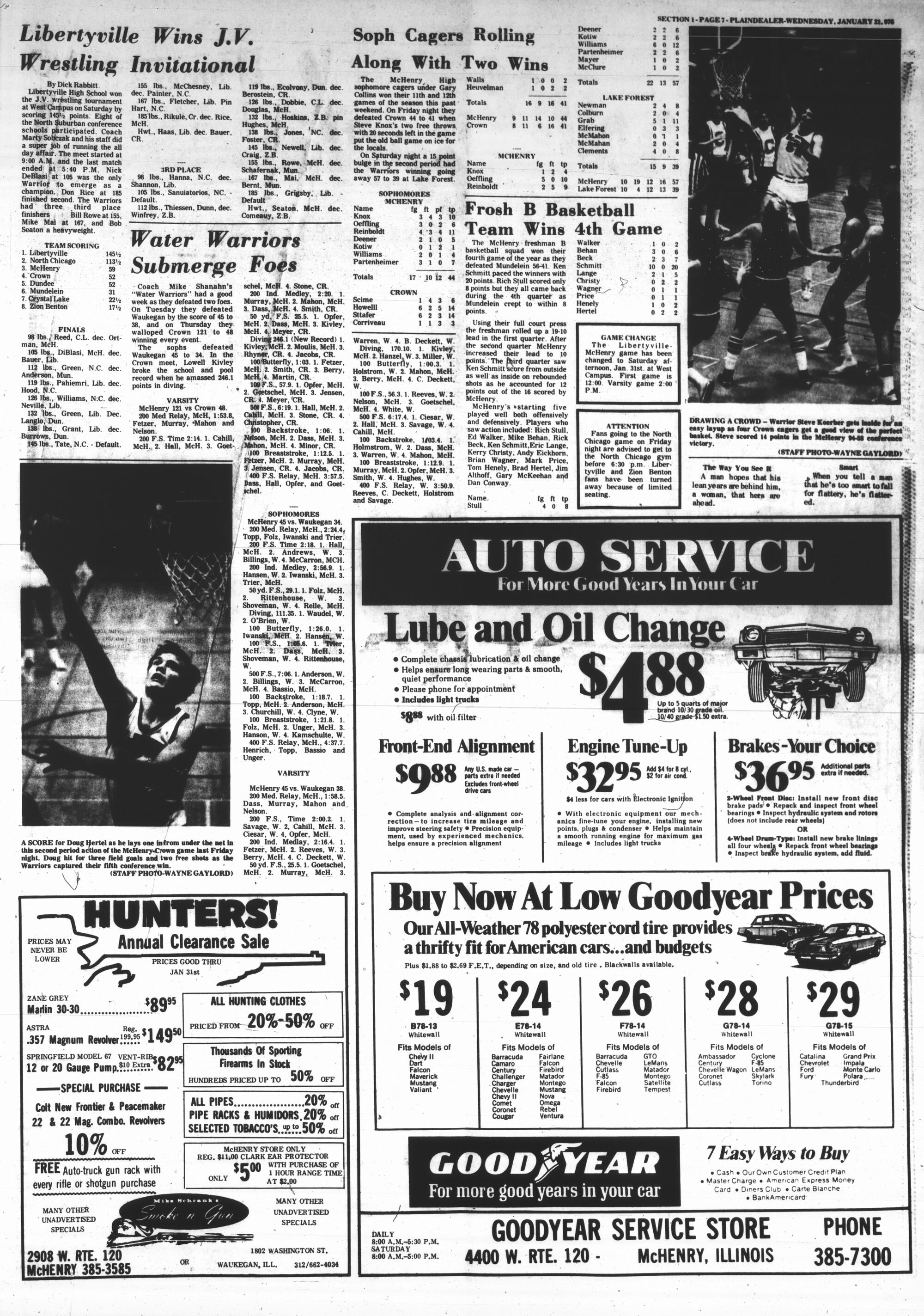 McHenry Plaindealer (McHenry, IL), 21 Jan 1976