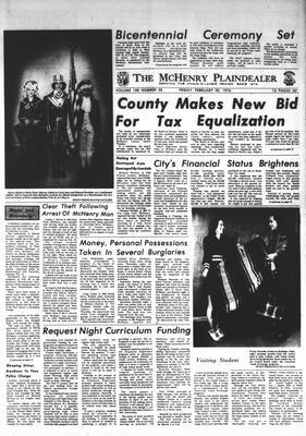 McHenry Plaindealer (McHenry, IL), 20 Feb 1976