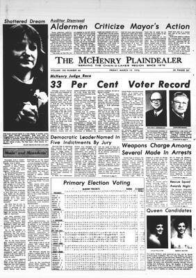 McHenry Plaindealer (McHenry, IL), 19 Mar 1976