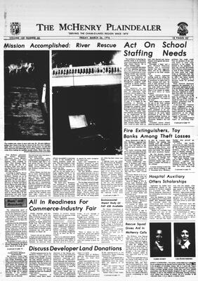 McHenry Plaindealer (McHenry, IL), 26 Mar 1976