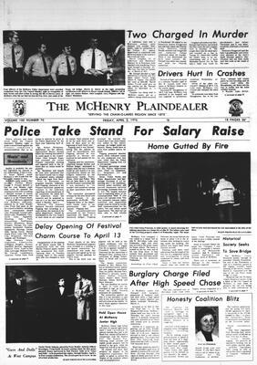 McHenry Plaindealer (McHenry, IL), 2 Apr 1976