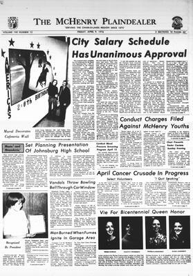 McHenry Plaindealer (McHenry, IL), 9 Apr 1976