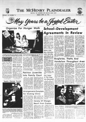 McHenry Plaindealer (McHenry, IL), 16 Apr 1976