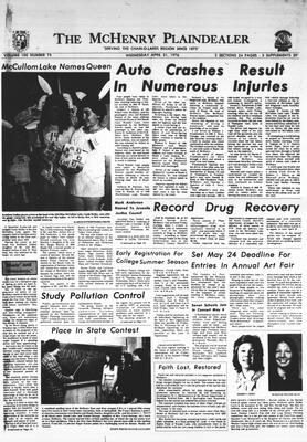 McHenry Plaindealer (McHenry, IL), 21 Apr 1976