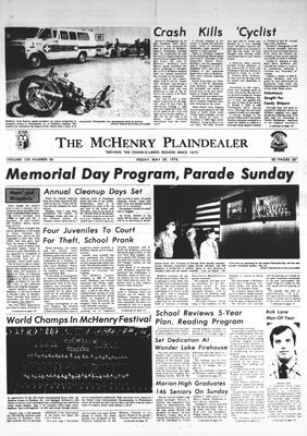 McHenry Plaindealer (McHenry, IL), 28 May 1976