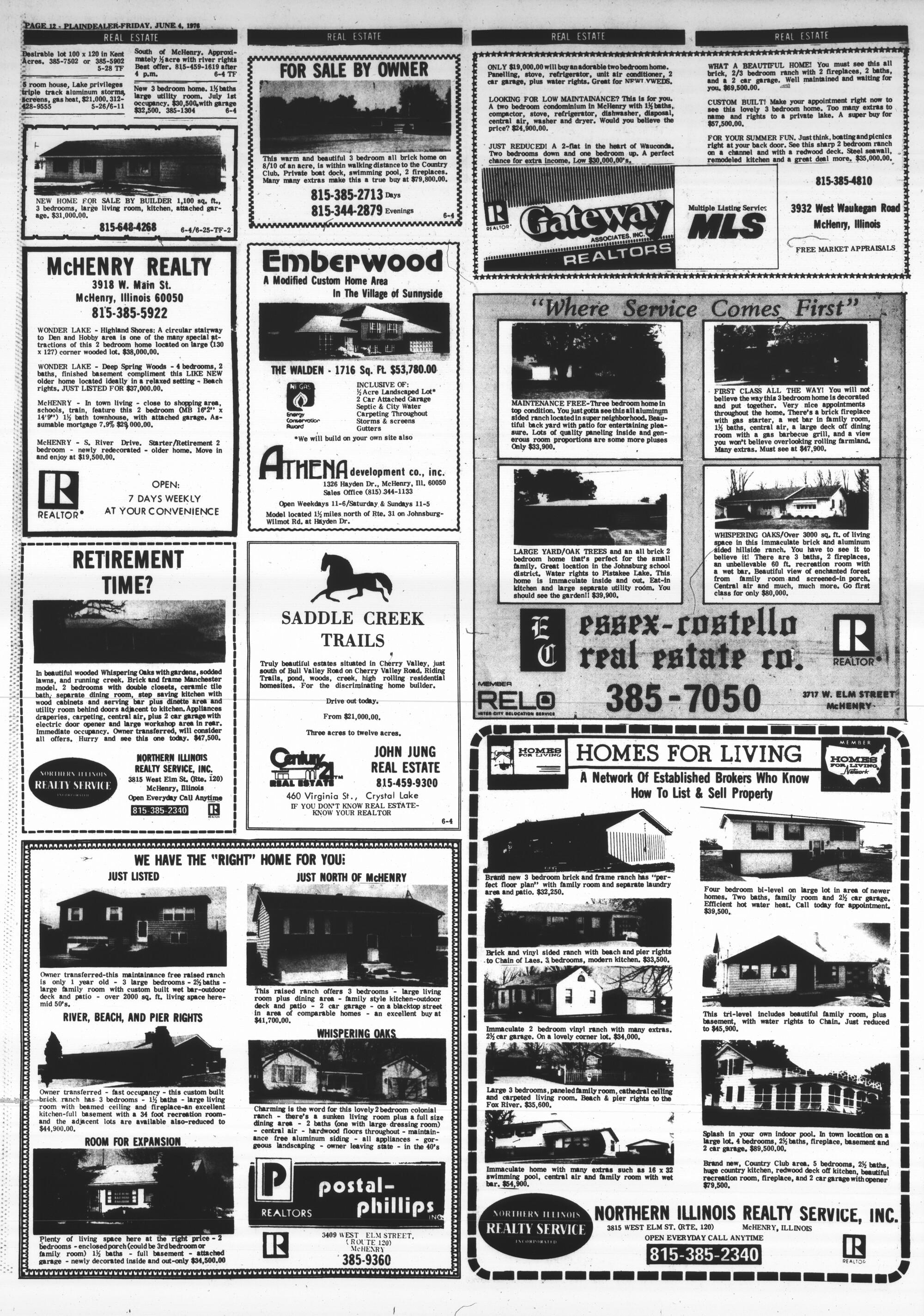 McHenry Plaindealer (McHenry, IL), 4 Jun 1976