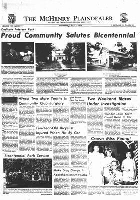McHenry Plaindealer (McHenry, IL), 7 Jul 1976