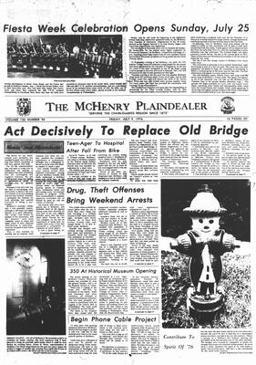 McHenry Plaindealer (McHenry, IL), 9 Jul 1976