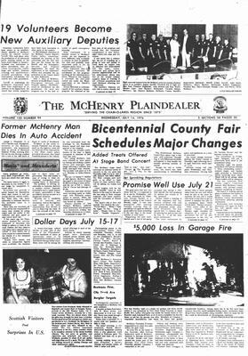 McHenry Plaindealer (McHenry, IL), 14 Jul 1976